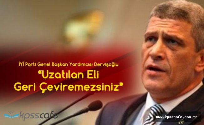 İYİ Parti Genel Başkan Yardımcısı Dervişoğlu'ndan Açıklama: Uzatılan Eli Geri Çeviremezsiniz