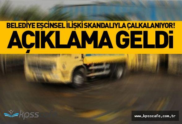 Belediyede 3 Kamyon Şöförü ile 1 Çöpçü Arasında Eşcinsel İlişki Skandalı!..