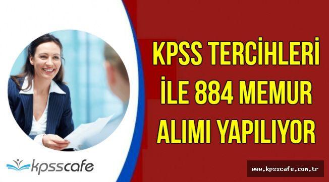 KPSS Tercihleri ile 884 Kamu Personeli Alımı Yapılıyor