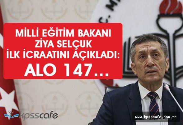 Milli Eğitim Bakanı Ziya Selçuk, ilk icraatını açıkladı