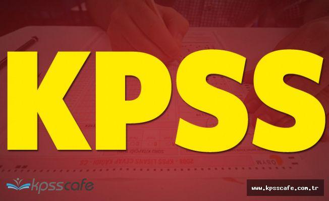 KPSS'ye Girecek Aday Sayısı Belli Oldu