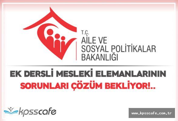 Ek Dersli Mesleki Elemanlarının Sorunları Çözüm Bekliyor!..