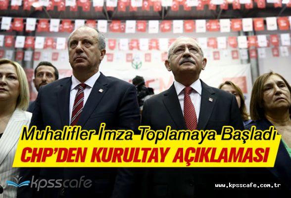 CHP'den Kurultay Açıklaması!..
