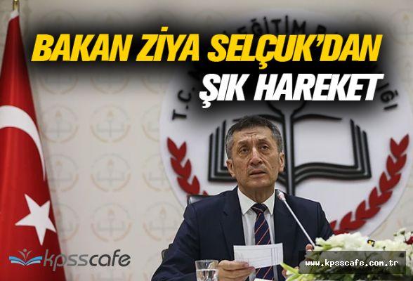Bakan Ziya Selçuk Kendisine Gelen Çiçekleri Okullara Bu Notla Gönderiyor!..