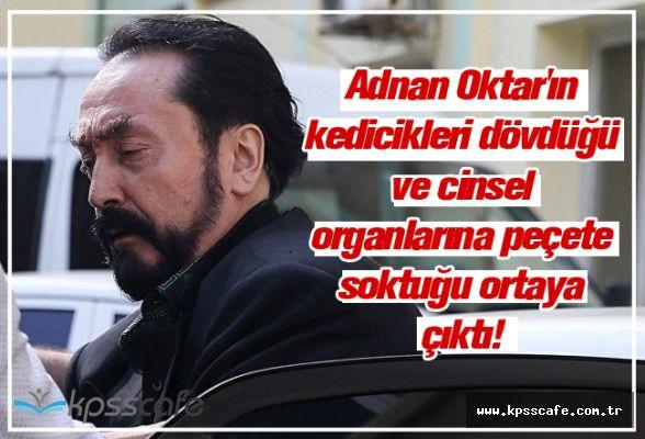 Adnan Oktar'ın kedicikleri dövdüğü ve cinsel organlarına peçete soktuğu ortaya çıktı!