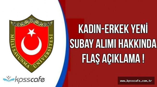 Hava Kuvvetlerine Kadın-Erkek Subay Alınacak-AK Parti'den Flaş Açıklama