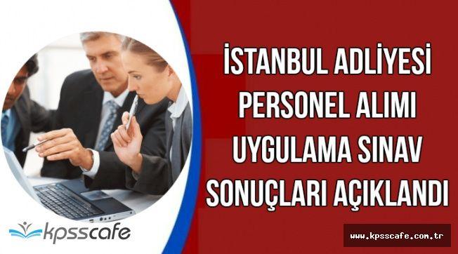 İstanbul Adliyesi Personel Alımı Sözlü Mülakat Listeleri Yayımlandı