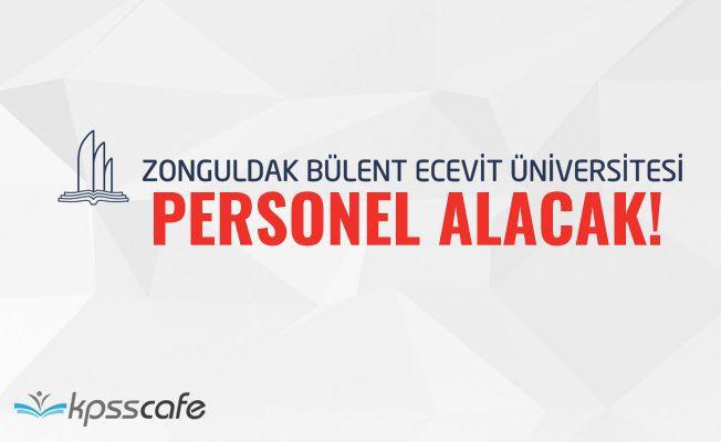 Bülent Ecevit Üniversitesi Personel Alacak