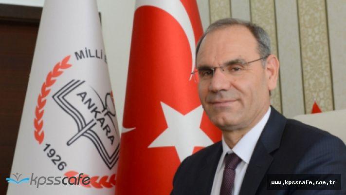Ankara il milli eğitim müdürü görevden alındı