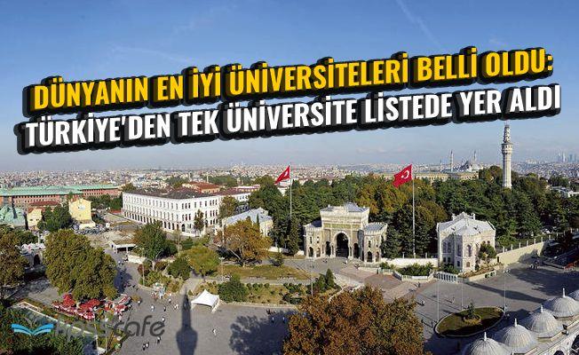 Dünyanın En İyi Üniversiteleri Belli Oldu: Türkiye'den Tek Üniversite Listede Yer Aldı