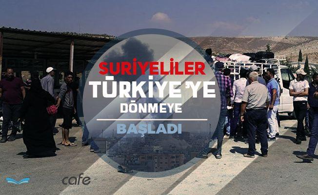 Bayramı Ülkelerinde Geçiren Suriyeliler Dönmeye Başladı!...