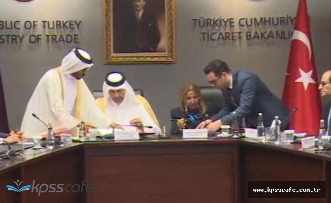 Katar ile çok önemli imza atıldı!..