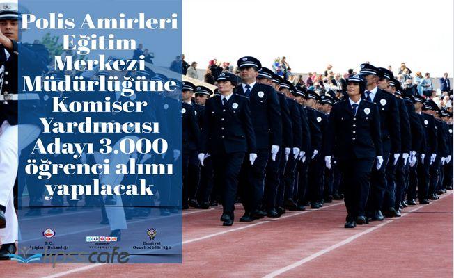 2700 Erkek 300 Kadın Komiser Yardımcısı Alınacak!.. İşte Aranan Şartlar!..
