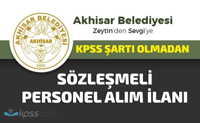 Belediye KPSS Şartı Olmadan Sözleşmeli Personel Alımı Yapacak