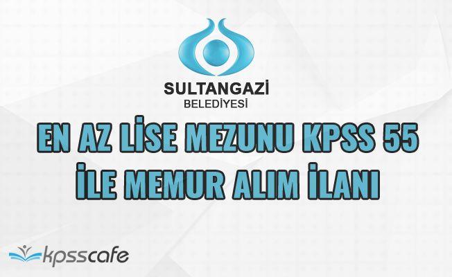 Belediye En Az Lise Mezunu KPSS 55 İle Memur Alımı Yapıyor!..