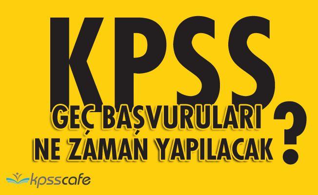2018 KPSS Önlisans Başvurusu Yapamayanlar Dikkat!..
