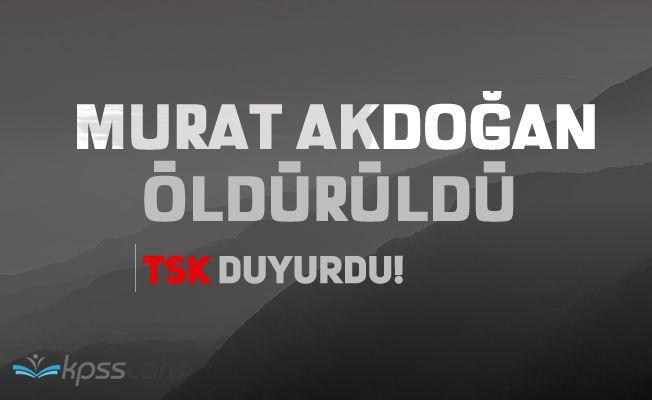 Murat Akdoğan öldürüldü
