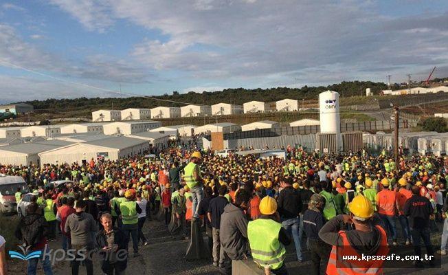 3. Havalimanı'nda eylem yapan işçilere 24 tutuklama