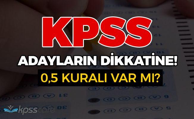 KPSS'ye Girecek Adaylar Dikkat!..
