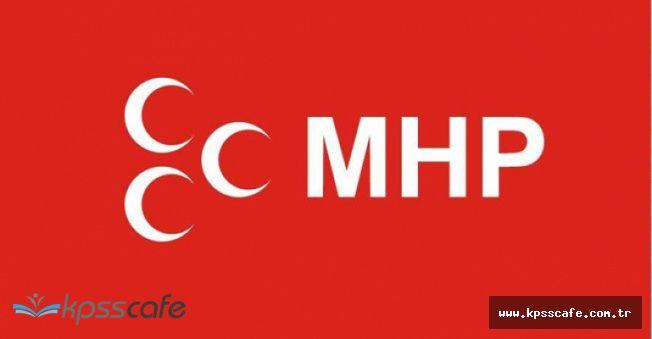 MHP Af Yasası Teklifini Meclise Sundu!..