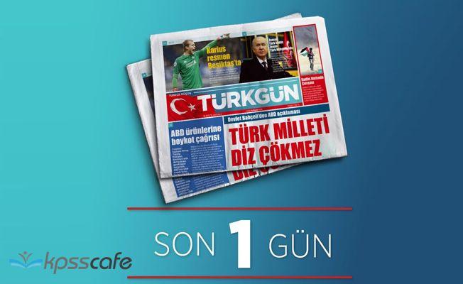 MHP'nin yeni gazetesi TÜRKGÜN yayına başladı