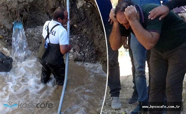Su Borusuna Düşen İşçiden Acı Haber!..