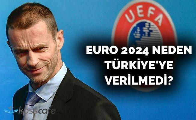 EURO 2024 neden Türkiye'ye verilmedi?