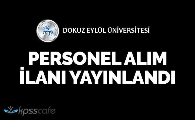 Dokuz Eylül Üniversitesi Personel Alımı Yapıyor
