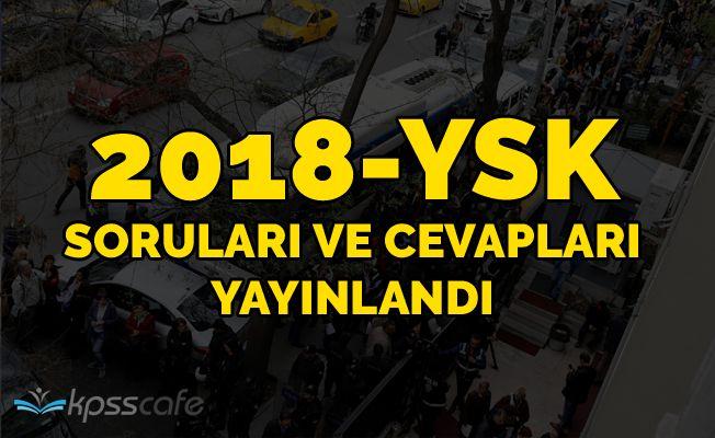 2018-YSK Soruları ve Cevapları Yayınlandı