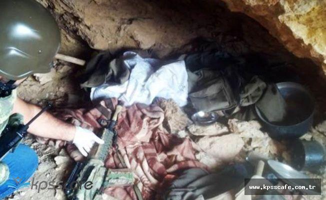 Teröristin Gösterdiği Mağarada Bakın Neler Çıktı?