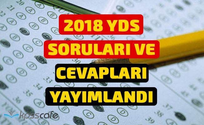 2018-YDS Sonbahar Dönemi Soruları ve Cevapları Yayımlandı!
