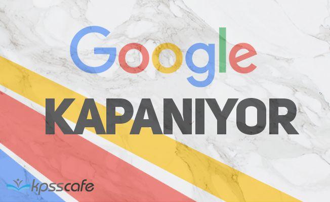 Google, Facebook'a Rakip Olarak Kurduğu Servisini Kapatıyor!