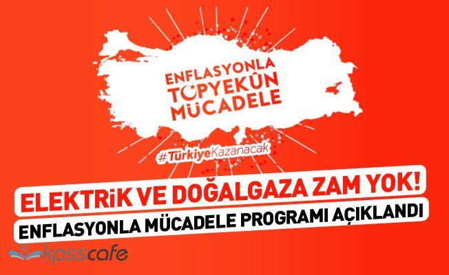 Bakan Albayrak : Elektirik ve Doğalgaza Zam Yok!