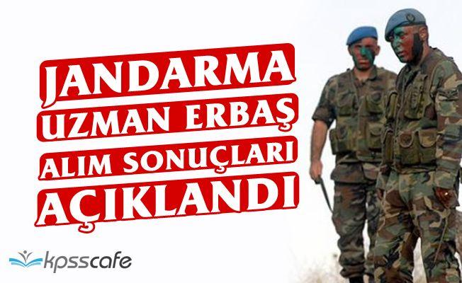 Jandarma Uzman Erbaş Alımı Sonuçları Açıklandı!