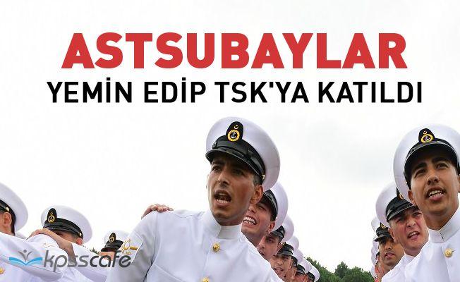 Astsubaylar Yemin Edip TSK'ya Katıldı