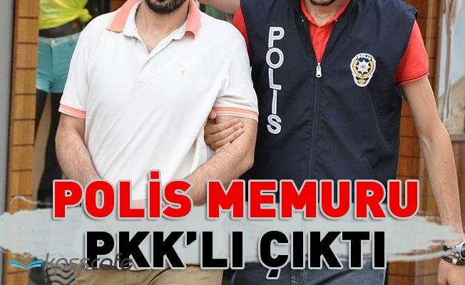 Polis Memuru PKK'lı Çıktı!