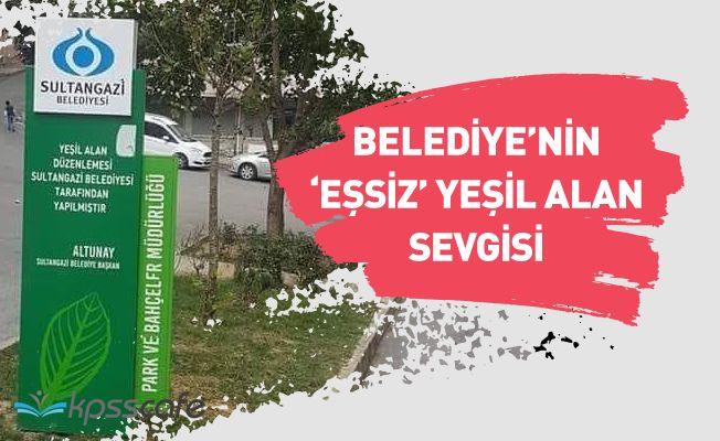 Sultangazi Belediyesi'nin ''Eşsiz'' Yeşil Alan Sevgisi!