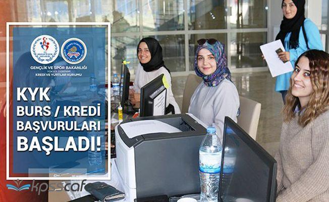 Bakanlık'tan KYK Bursu Açıklaması: KYK Burs ve Kredi Başvuruları Başladı