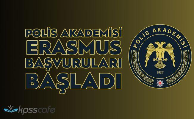 Polis Akademisi ERASMUS Başvuruları Başladı