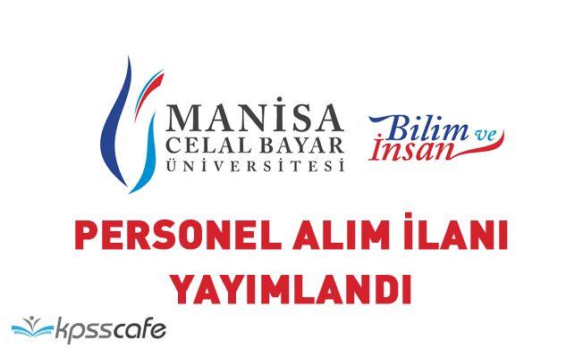 Manisa Celal Bayar Üniversitesi 26 Akademik Personel Alacak