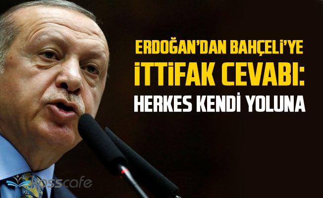 Erdoğan'dan Son Dakika MHP İle İttifak Açıklaması!