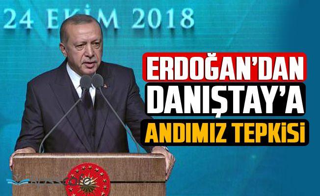 Erdoğan'dan Danıştay'a Andımız Tepkisi!