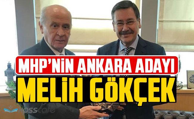 MHP'nin Ankara Adayı Melih Gökçek!