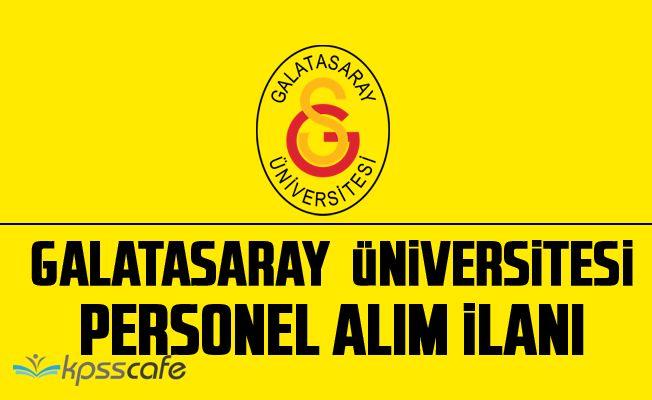 Galatasaray Üniversitesi Akademik Personel Alacak