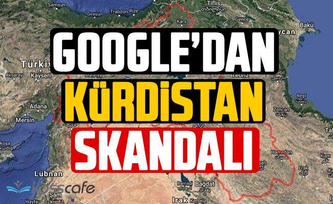 Google'dan Kürdistan Skandalı!
