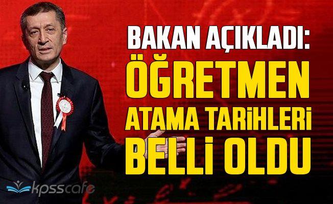 Öğretmen Atama Tarihleri Belli Oldu!