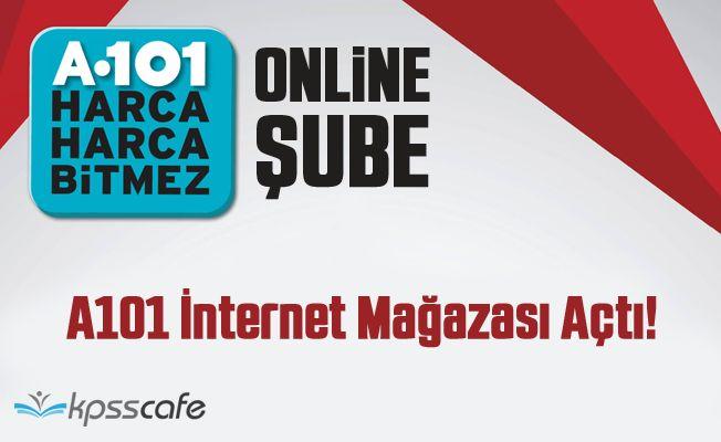 A101 İnternet Mağazası Açtı!