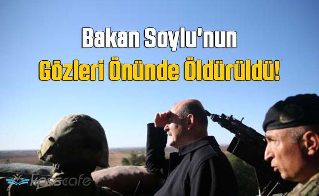 Bakan'ın Gözleri Önünde Öldürüldü!