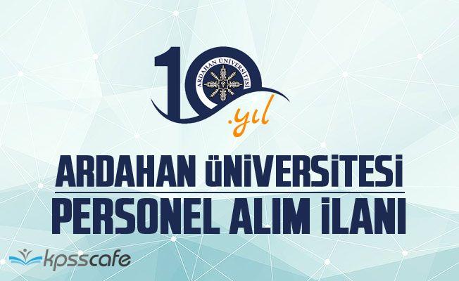 Ardahan Üniversitesi 5 Akademik Personel Alacak