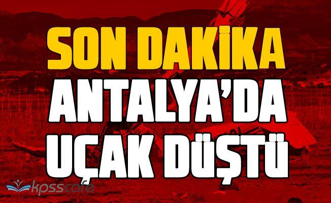 Antalya'da Uçak Kazası!